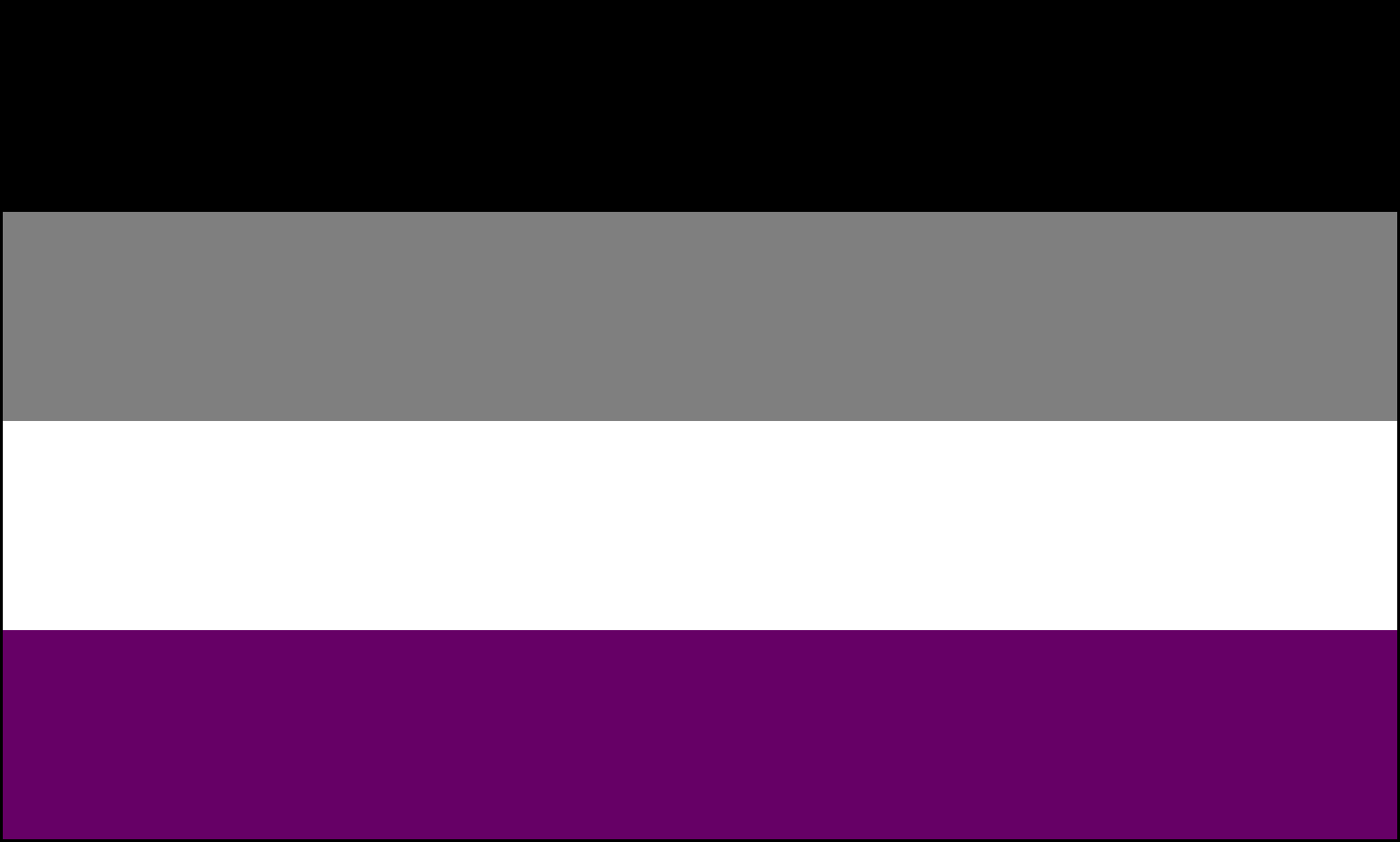 the asexuality flag asexuality archive